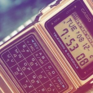 ✨ Casio Gold Calculator Watch